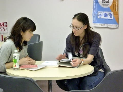 教える女性 Japanese class nagoya one on one 日本語教室名古屋2