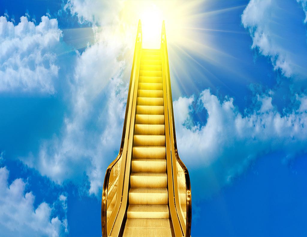 金運アップの階段