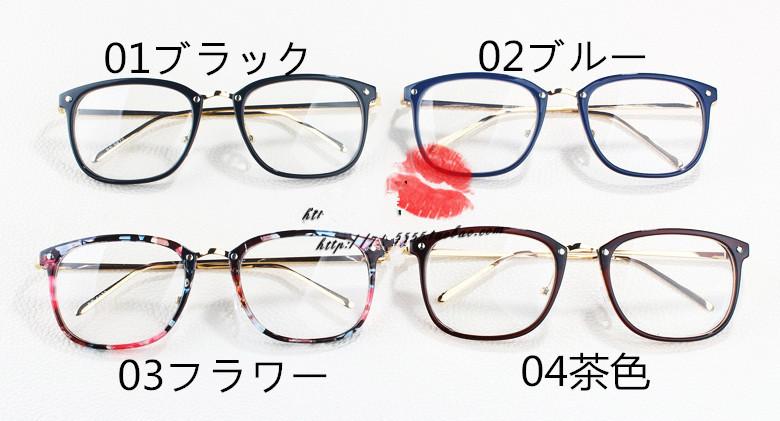 6d2e04c4d2a5a5 【送料無料】韓国メガネフレーム女子おしゃれクラシック風丸顔男性度なしレンズ眼鏡近視対応伊達メガネ痩せる効果大きいフレーム