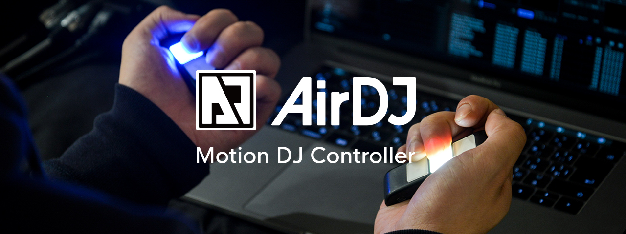 AirDJ by Dmet Products Top