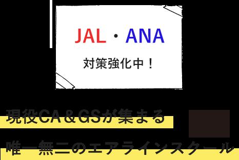 現役機長・CA&GSが集まる 唯一無二のエアラインスクール JAL・ANA対策強化中!